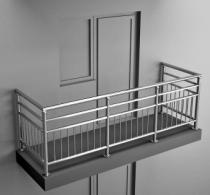 Балконные ограждения из нержавеющей стали Арт. нбо-5