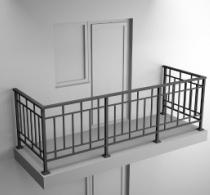 Балконные ограждения из профильной трубы Арт.обч-4