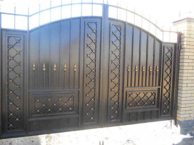 Ворота из чернового металла челябинск