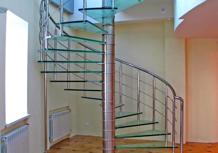 лестницы из нержавейки заказать
